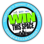 Win This Space logo: