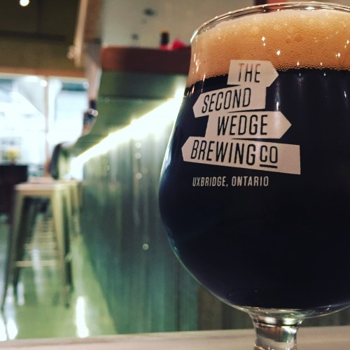 The Second Wedge Brewing Co. - Rain Maker Porter beer